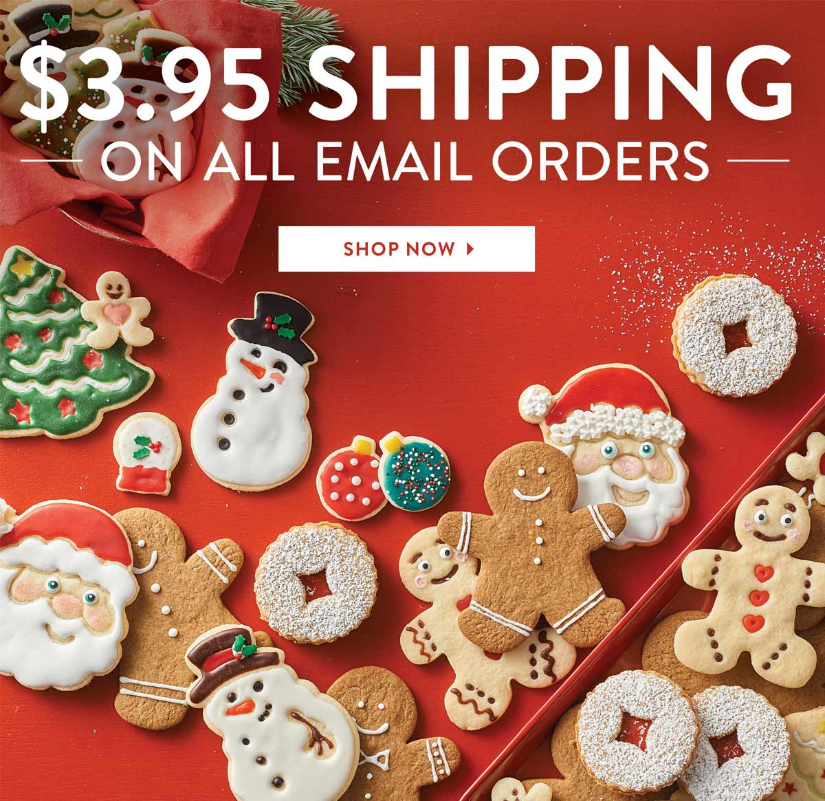 $3.95 Shipping on all email orders