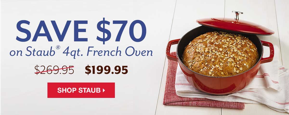 Staub French Oven Discount